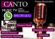 Cantar es tu pasionn: whatsapp: 099-255-14-32