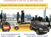 Transporte privado, aeropuerto, turismo