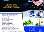 Contador externo realiza contabilidades impuestos auditorias reactivaciones de compañías