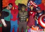 Animaciones infantiles y show,payasitos,muñecas,superheroes quito y mas
