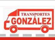 Transporte gonzales servicio de mudanzas