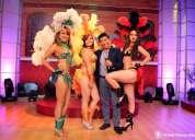 Hora loca fiesta carnavalera, show con garotas y garotos