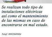 Todo en instalaciones eléctricas 0992849984