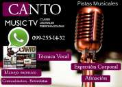 Canto clases whatsapp:0992551432