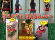 Manta masajes ofrece servicios de masajistas prepagos en manta