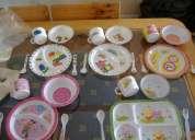 Juego de platos y cubiertos