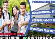 PreparaciÓn pruebas ingreso a universidades publicas y privadas