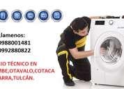 TÉcnico de lavadoras lg,samsung ,whirlpool