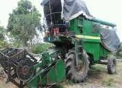 Vendo cosechadora jhondeere