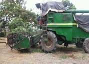 Excelente cosechadora 1055 jhondeere