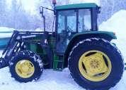 Donacion del tractor john deere 6300 1993