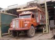Oportunidad! camion mula scania 74