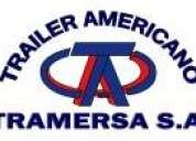 Vendo trailer americano