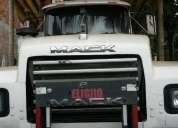 Vendo cabezal trailer mack rd688s aÑo 1999