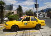 Se vende un taxi