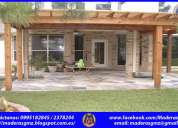 Pérgolas de madera-piso de madera-piso flotante-pisos flotantes-tumbaco-pifo-puembo