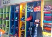 Se vende boutique de ropa de niÑos en loja calle bolivar