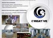 Creative design  diseño y construcción de  stands, islas comerciales y terminados de construccion.