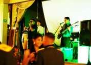 Grupo música tropical bailable vivo quito, salsa, merengue