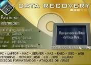 Recuperacion datos de discos duros  guayaquil