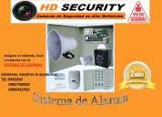 Venta, instalación y mantenimiento de sistemas de alarmas