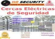 Venta, instalación y mantenimiento de cercos eléctricos
