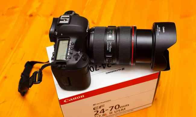 Canon EOS 5D Mark II 21.1 MP Digital SLR Camera