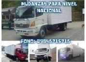 *camiones para fletes y mudanzas (encomiendas).