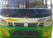 Se vende un hermoso bus de transporte público en buen estado papeles al día