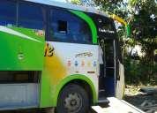 Vendo un bus de transporte público por cambio de unidad
