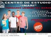 Centro inari-senescyt-snna-universidades-educacion-clases a domicilio- cumbaya-tumbaco