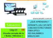Curso cctv, redes, wireless, cableado estructurado $90