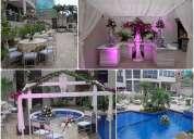 Alquiler de mesas y sillas, decoracion de eventos y banquetes