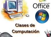 Clases de computaciÓn e informÁtica a domicilio
