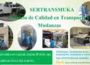 SERVICIO DE CAMIONETA FURGÓN PARA TRANSPORTE, REPARTO Y MUDANZA