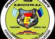 Transporte tours-ejecutivo s.a