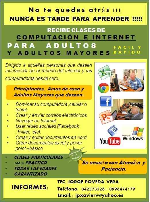 Computación para Adultos!!