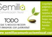 Publicidad, rótulos, páginas web,logotipos, tarjetas de presentación, hojas volantes etc..