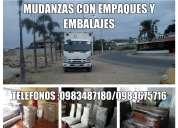 Transporte para fletes y mudanzas