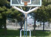 Tableros de basquet en vidrio templado