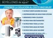 Purificadores de agua, filtros, osmosis inversa mantenimientos