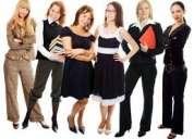 10 mujeres  para trabajo en nutricosmÉtica