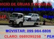Gruas y winchas en la autopista general rumiÑahui las 24-horas en servicio quito / valle