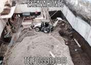 Excavaciones profundas, derrocamientos, muros anclados etc. 0999193805