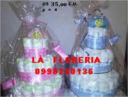 Torta pastel pañal de 2 y 3 pisos , baby shower, nacimientos
