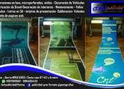 Rótulos -etiquetas -stickers -banners -señaleticas-gigantografías -imprenta -uniformes