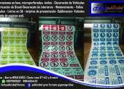 Rótulos etiquetasstickers banners señaleticasgigantografías imprenta uniformes