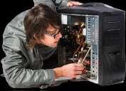 Servicio tecnico de computadoras a domicilio o lugar de trabajo