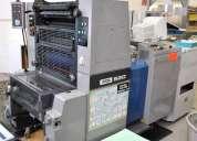 Venta de maquina de imprenta