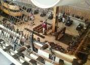 Maqueta barco escala santisima trinidad